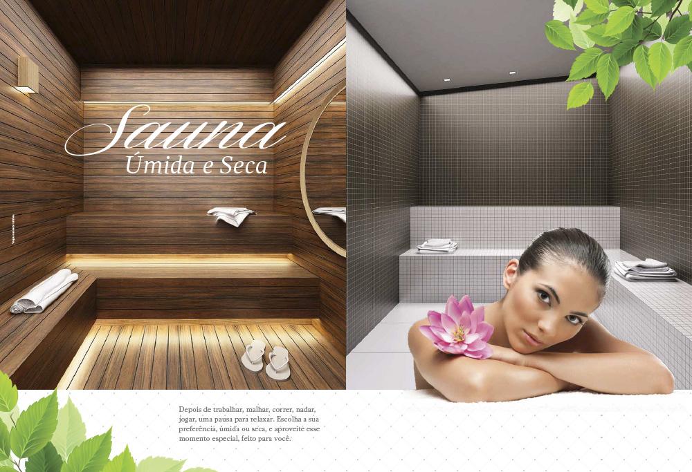 Sauna Úmida e Seca